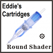 Eddie's Needle Cartridge 8RS #12/Medium Taper Box of 20