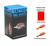 Mom's Nuclear Radiant Pink Ink Shots - Box of 30