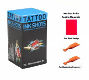 Mom's Nuclear Raging Magenta Ink Shots - Box of 30