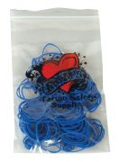 Blue Rubber Bands 100pk