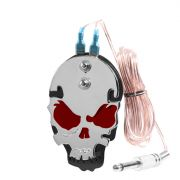 Skull Footswitch Red w/ Phono Plug