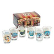 Coney Island Carlo Shot Glasses (6)