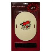 """""""Almost Skin""""- 8"""" x 6"""" Oval with Strap - 10 Pack"""