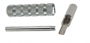 """T316 Stainless Steel 4-5 Flat-Open Tip, Tube and 9/16"""" Grip"""