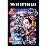 50/50 Tattoo Art Book