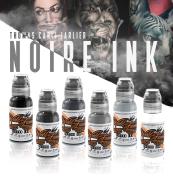 World Famous Thomas Carli Jarlier Noire Ink Wash Set
