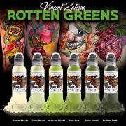 World Famous Vincent Zaterra Rotten Greens Ink Set
