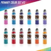 World Famous Primary Color Ink Set #2