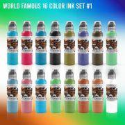 World Famous 16 Color Set #1