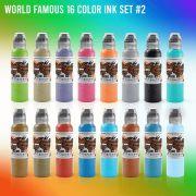 World Famous 16 Color Set #2