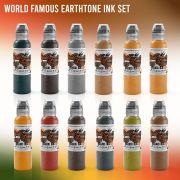 World Famous Earthtone Ink Set