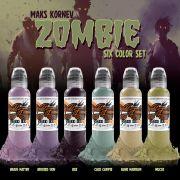 World Famous Maks Zornev's Zombie Color Set